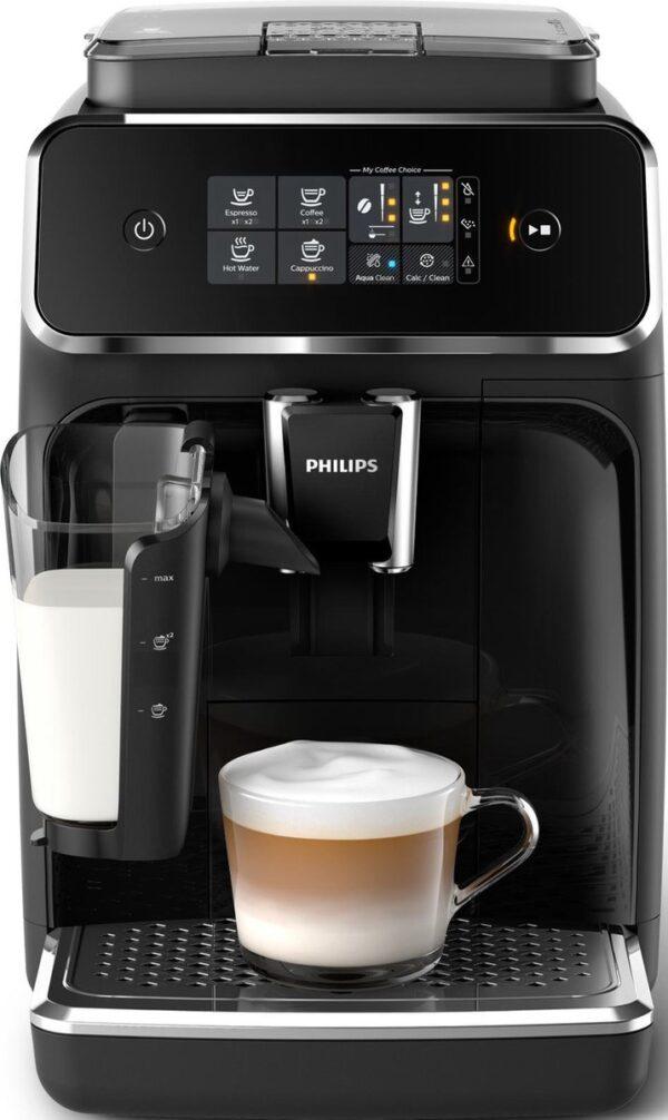 Philips LatteGo 2200 Serie EP2231/40 - Espressomachine - Zwart/RVS