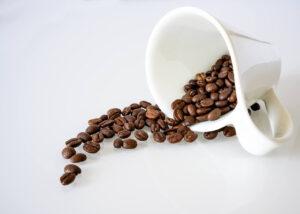 koffie als geurvreter